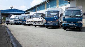 Chành xe vận chuyển hàng, gửi hàng từ Hà Nội đi Đà Nẵng.