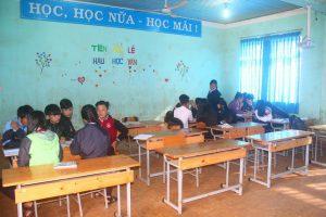 Đìu hiu cảnh Ngôi trường cấp 3 chỉ có 40 học sinh tại Đắc Nông.