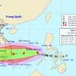 Cơn bão số 12 vào biển Đông: Hướng thẳng Bình Định-Ninh Thuận