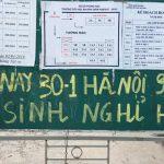 Hà Nội rét 9 độ C, nhiều trường cho học sinh nghỉ học.