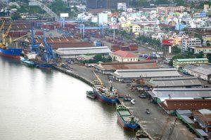 10 bến cảng trên sông Sài Gòn phải di dời.