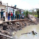 Chi hơn 130 tỉ đồng xây kè chống sạt lở tuyến sông Rạch Tra.