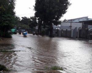 Quốc lộ 28 qua Đắc Nông ngập sau sau mỗi trận mưa gây mất ATGT